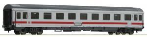 Модель пассажирского 4-х осного вагона немецких поездов IC(Inter City),вагон 1-го класса.Пр-во ROCO.Арт.54160.Масштаб НО (1:87).