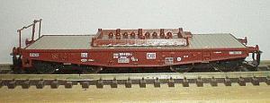 4-х ос платформа ROCO Арт.37573.Масштаб ТТ (1:120).