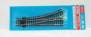 Стрелка прямая левая длиной 168мм.Пр-во РECO.Арт.ST-241.Масштаб НО (1:87).