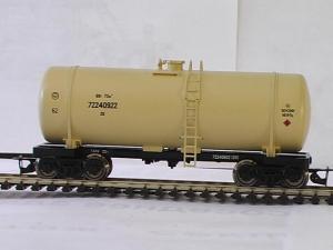 4-х осн.цистерна для бензина.Пр-во Пересвет.Арт.3721.Масштаб ТТ (1:120).