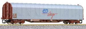 Модель крытого 4-х осного вагона.Пр-ва TILLIG.Арт.15549.Масштаб ТТ (1:120).