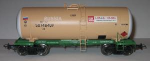 Цистерна бензин РЖД.Ф-ма Онега.Масштаб НО (1:87).