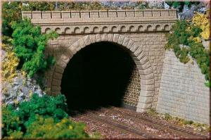 Порталы туннеля двухпутного.Пр-во Аухаген.Арт.11343.Масштаб НО (1:87).