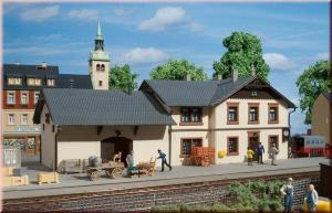 Вокзал Oberrittters.Фирма Аухаген.Арт.11362.Масштаб НО (1:87).