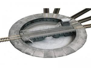 Модель электрического поворотного круга.Пр-во ROCO.Арт.35900.Масштаб ТТ (1:120).