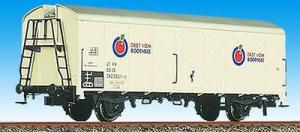 Модель 2-х осного вагона ледника.Пр-во BRAWA.Арт.2049.Масштаб НО (1:87).