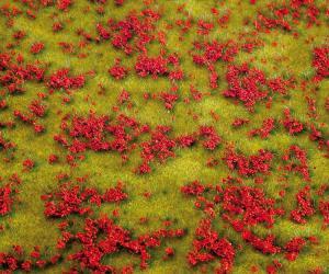 Модель сегмента диорамы-цветущий луг.Пр-во FALLER.Арт.180460.Масштаб НО (1:87).