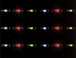 Модель LED светодиодной ленты (Lichterkette),цвет огней разноцветный.Пр-во FALLER.Арт.180649.Масштаб НО (1:87).
