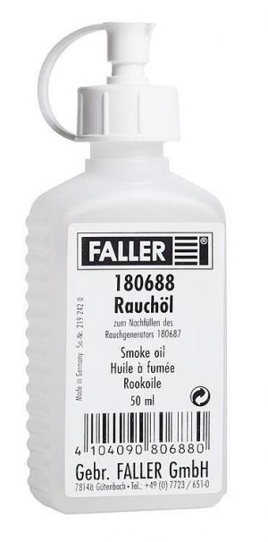 Жидкость для дымогенератора об.50мл.Пр-во FALLER.Арт.180688.Масштаб НО (1:87).