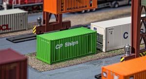 Модель 20-футового контейнера компании CP Ships.Пр-во FALLER.Арт.180830.Масштаб НО (1:87).