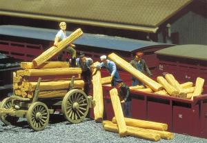 Модель 30-ти деревянных шпал.Пр-во FALLER.Арт.180909.Масштаб НО (1:87).