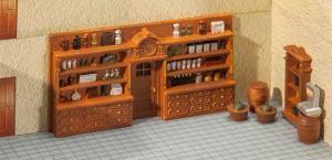 Модель оборудования для магазина.Пр-во FALLER.Арт.180923.Масштаб НО (1:87).