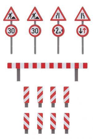 Модель дорожных указателей.Пр-во FALLER.Арт.180930.Масштаб НО (1:87).
