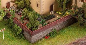 Модель крыши для забора ограждения.Пр-во FALLER.Арт.180941.Масштаб НО (1:87).