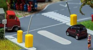 Модель шлагбаумов на паркинге.Пр-во FALLER.Арт.180942.Масштаб НО (1:87).