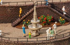 Модель небольшого фонтана.Пр-во FALLER.Арт.180944.Масштаб НО (1:87).
