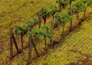 Модель аксессуаров - растущий виноград 24шт.Пр-во FALLER.Арт.181254.Масштаб НО (1:87).