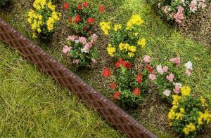 Модель аксессуаров - цветы гибискусы 18шт.Пр-во FALLER.Арт.181272.Масштаб НО (1:87).