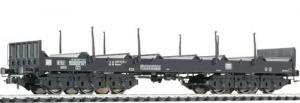 Платформа 6-ти осная для перевозки стали.Производство LILIPUT.Арт.235766.Масштаб НО (1:87).