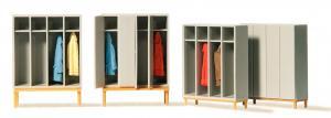 Сет модель для самостоятельной сборки оборудование для гардероба на предприятии.Пр-во PREISER.Арт.17188.Масштаб HO (1:87).