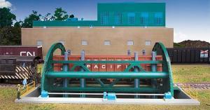 Модель устройства для переворачивания вагонов.Пр-во Walthers (FALLER).Арт.533903.Масштаб НО (1:87).