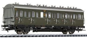 Пассажирский каретный 2-х осный вагон.Пр-во LILIPUT.Арт.334021.Масштаб НО (1:87).