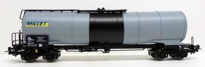 Модель 4-х осной цистерны с тормозной площадкой.Пр-во PIKO.Арт.54785.Масштаб НО (1:87).