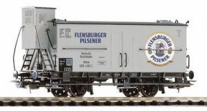 Модель 2-х осного вагона с будкой для перевозки пива.Пр-во PIKO.Арт.54952.Масштаб НО (1:87).