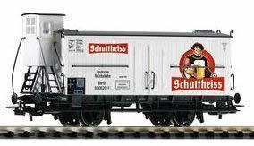 Модель 2-х осного вагона с будкой для перевозки пива.Пр-во PIKO.Арт.54959.Масштаб НО (1:87).