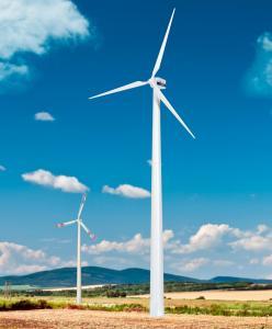 Модель современного ветряка.Пр-во KIBRI.Арт.38532.Масштаб НО (1:87).