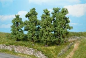Набор фруктовых деревьев высотой 9-11см (4шт).Пр-во HEKI.Арт.1731.Масштабы-все.