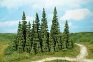Набор деревьев елки 7шт.Пр-во HEKI.Арт.2152.Масштабы-все.