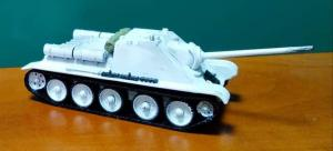 Модель самоходной установки СУ-85.Пр-во АМА.Масштаб 1:87 (НО).