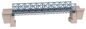 Новинка 2019!Модель стального прямого однопутного моста.Пр-во FALLER.Арт.120502.Масштаб НО (1:87).