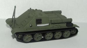 Модель БРЭМ на базе самоходной установки СУ-85.Пр-во DeBerg.Масштаб 1:87 (НО).