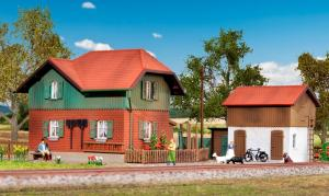 Модель дома обходчика Kaltental с пристройкой.Пр-во KIBRI.Арт.39320.Масштаб НО (1:87).