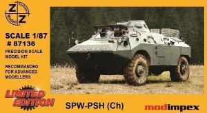 Модель SPW PSW(Ch)-для самостоятельной сборки.Пр-во Z@Z.Арт.87136.Масштаб 1:87 (НО).