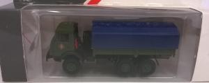 Модель КАМАЗ 4310 борт-тент синий