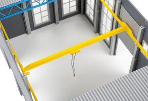 Модель потолочного крана для промышленного цеха Goldbeck.Пр-во FALLER.Арт.180884.Масштаб НО (1:87).
