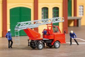 Модель пожарного автомобиля Multicar M22 Feuerwehr.Пр-во Аухаген.Арт.41655.Масштаб НО (1:87).