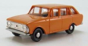Модель ИЖ-2125 готовая модель (цвет оранжевый).Пр-во Z@Z.Масштаб 1:87 (НО).
