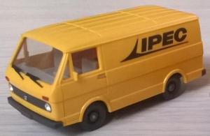 Модель микроавтобуса VW LT 28 (грузовой вариант).Пр-во WIKING.Масштаб НО (1:87).