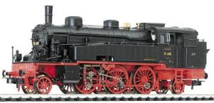 Модель паровоза серии BR 75.4 (модель с декодером DCC).Пр-во LILIPUT.Арт.131022.Масштаб НО (1:87).
