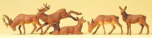 Сет фигурок стадо оленей.Пр-во PREISER.Арт.14179.Масштаб НО (1:87).