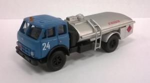 Модель МАЗ-500А бензовоз-готовая модель.Пр-во Z@Z.Масштаб 1:87 (НО).