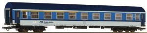 Модель пассажирского 4-х осного вагона 1-го/2-го класса Bauart Y/B-70.Пр-во ROCO.Арт.64861.Масштаб НО (1:87).