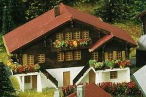 Альпийский дом фирмы KIBRI.Арт.6807.Масштаб Z (1:220).