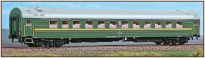 Модель пассажирского спального вагона Schlafwagen Typ WLAB 25,SZD.Пр-во A.C.M.E.Арт.52101.Масштаб НО (1:87).
