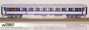 Модель 4-х осного пассажирского вагона-кушетки типа 110Ac PKP Intercity.Пр-во ROBO.Арт.244530.Масштаб НО (1:87).
