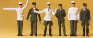Сет полицейских времен ГДР.Фирма PREISER 14146.Масштаб НО (1:87).